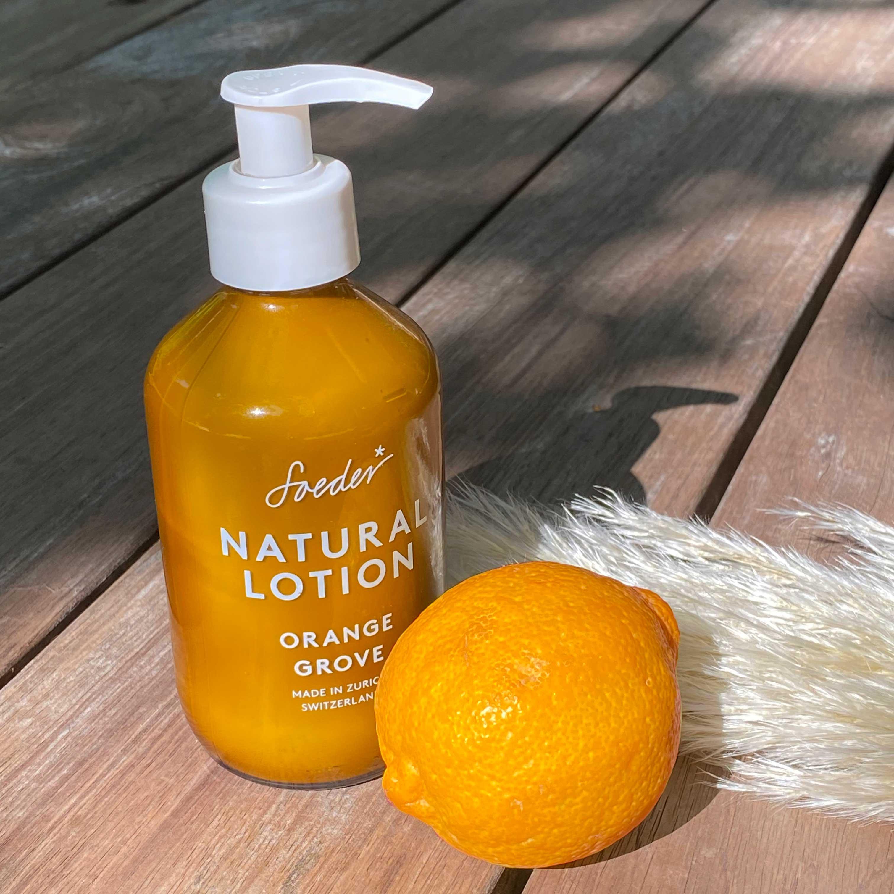 Natural Lotion – Orange Grove 250 ml von soeder*