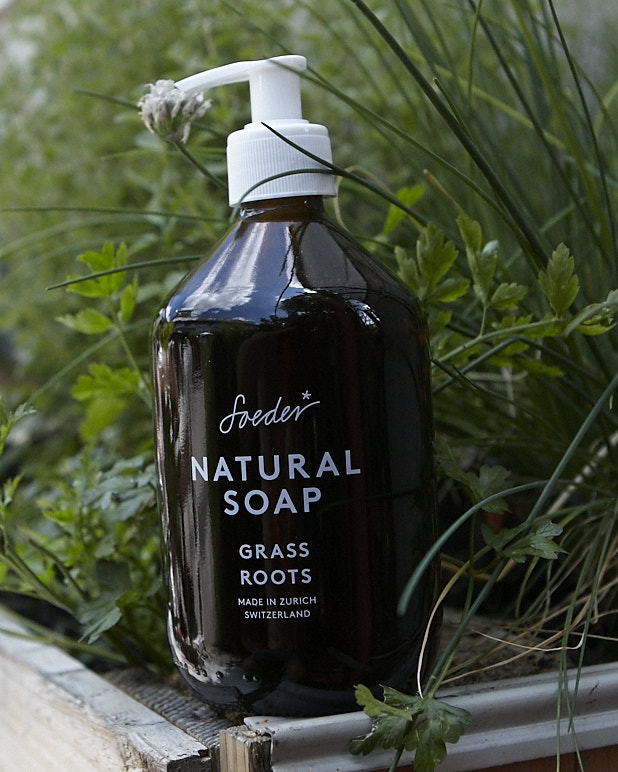 Natural Soap – Grass Roots 500 ml von soeder*