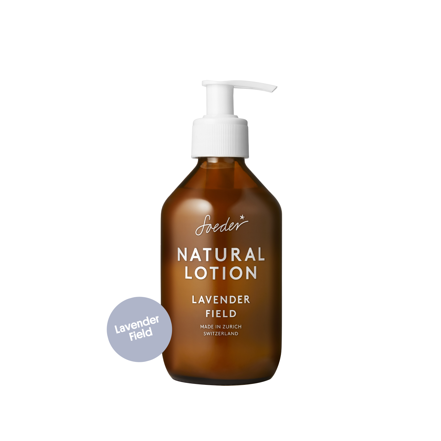 Natural Lotion – Lavender Field 250 ml von soeder*