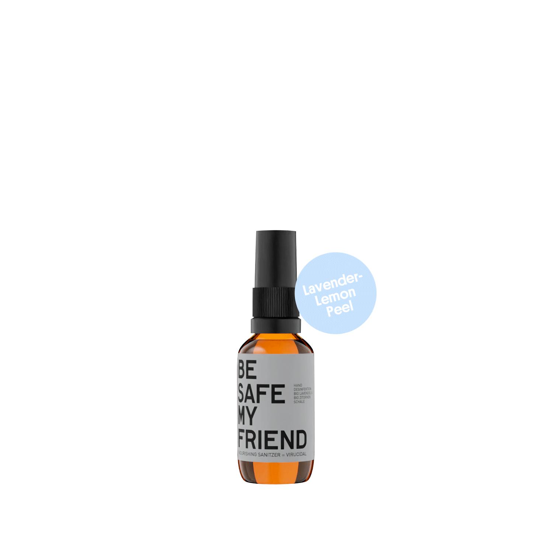 Sanitizer Spray – Lavender-Lemon Peel 30 ml von BE [...] MY FRIEND