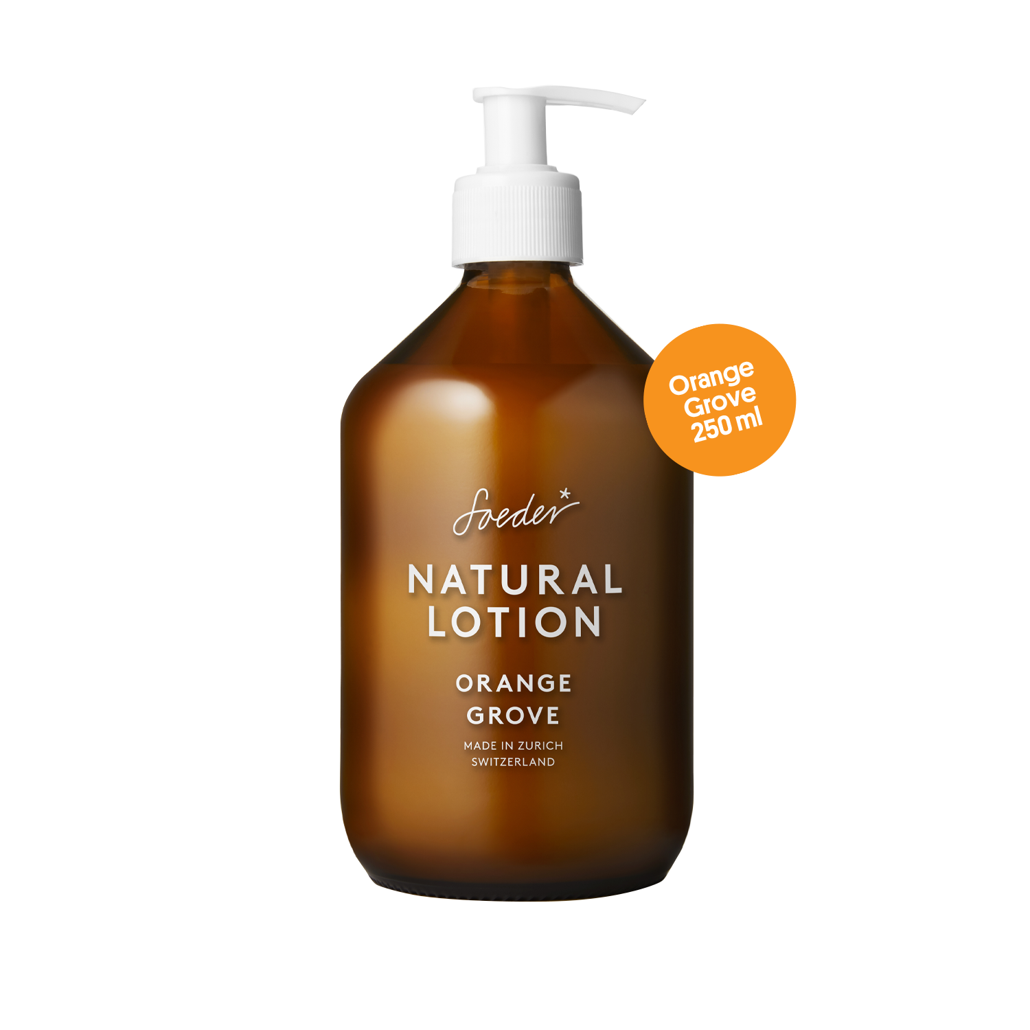 Natural Lotion – Orange Grove 500 ml von soeder*