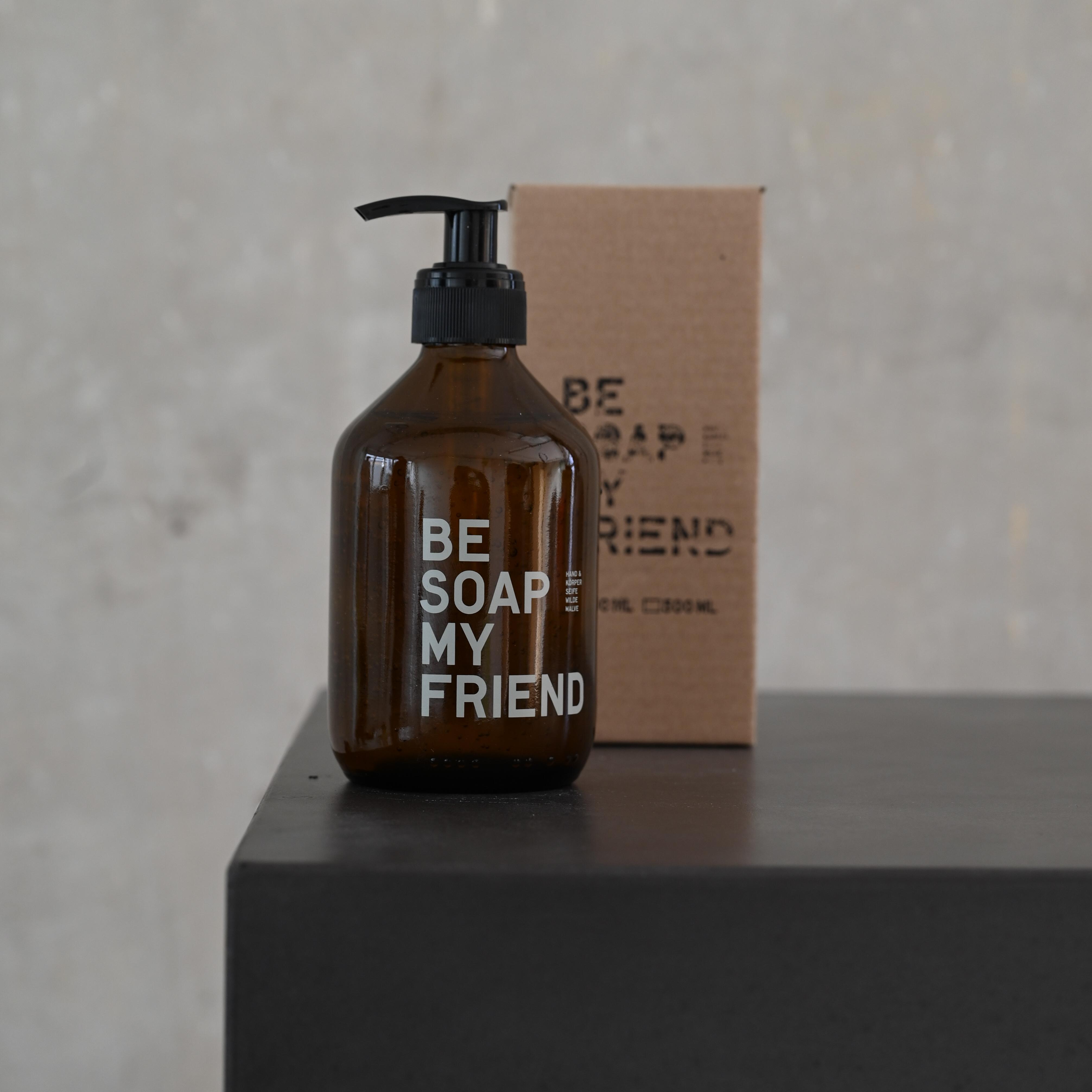 Hand und Körperseife – Wilde Malve 300 ml von BE [...] MY FRIEND