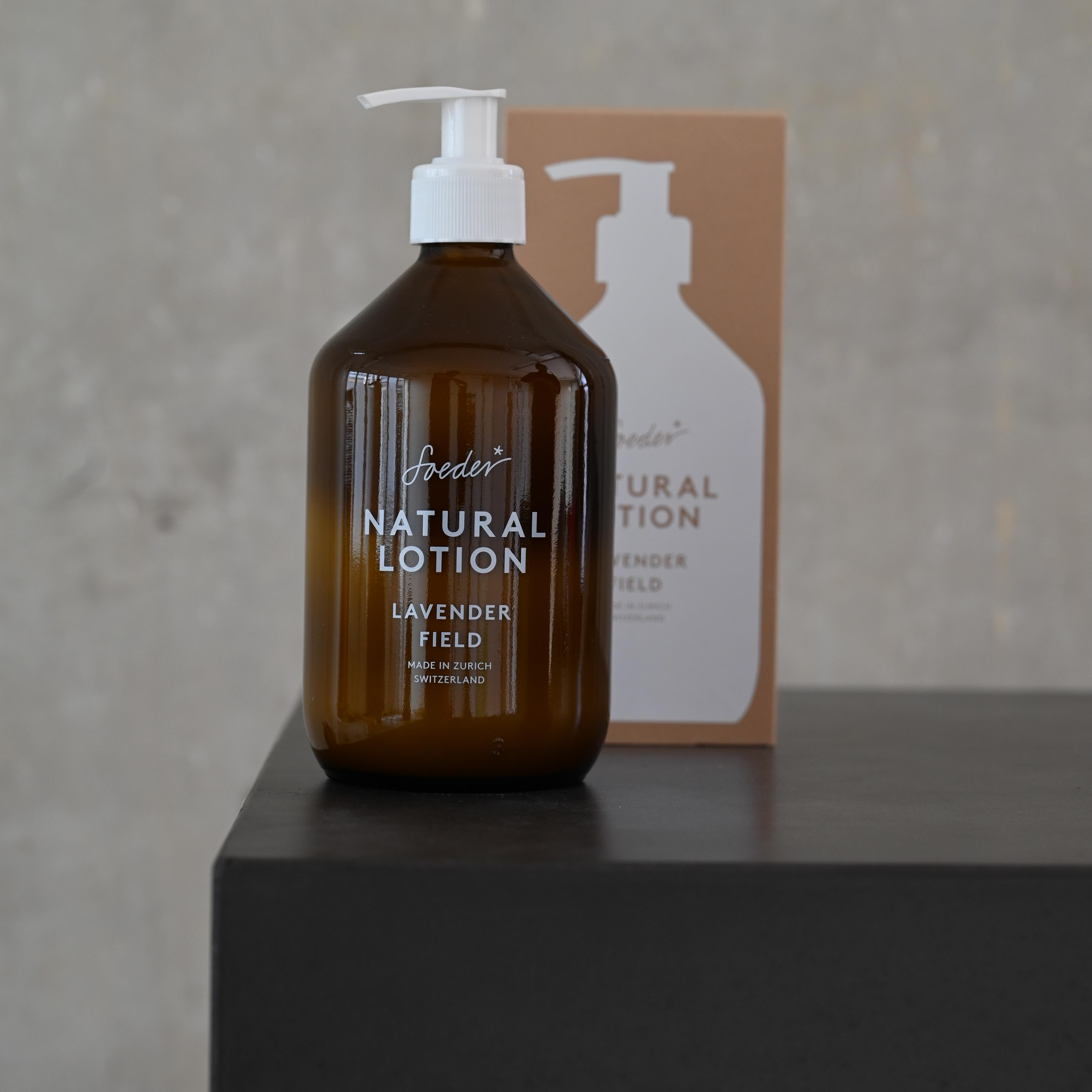 Natural Lotion – Lavender Field 500 ml von soeder*