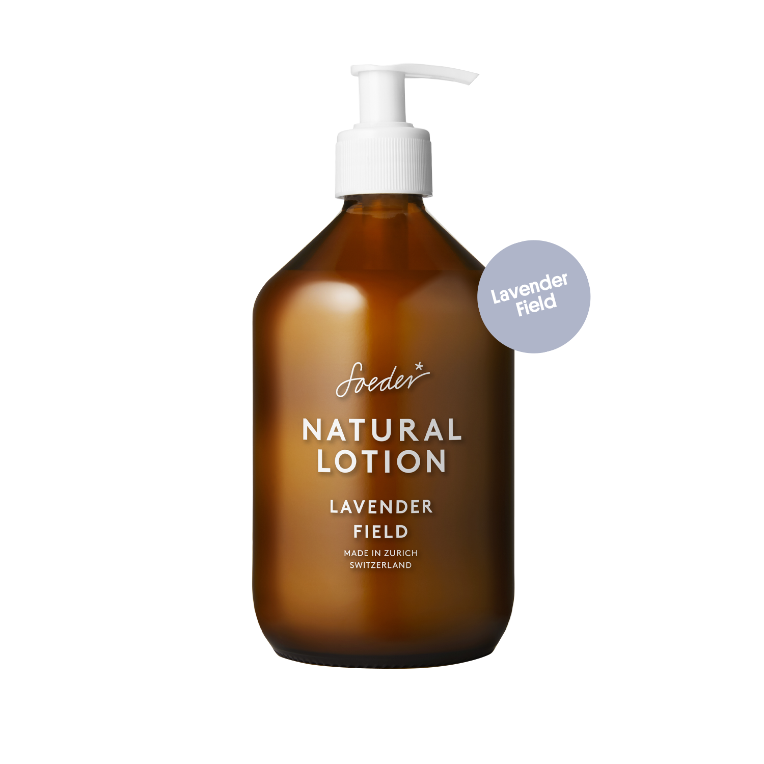 Natural Lotion – Lavender Field 500 ml von soeder*