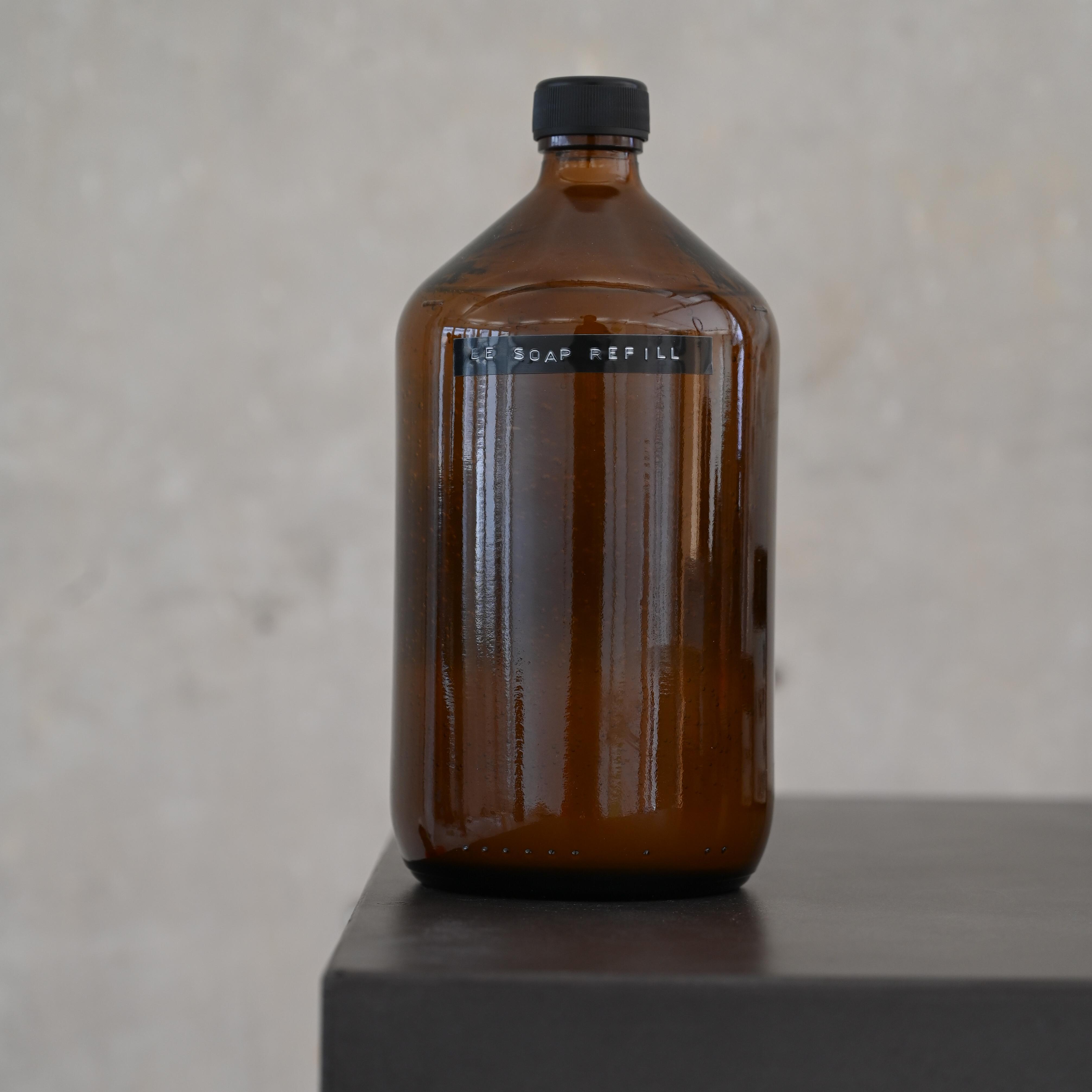 1 Liter Refill Hand und Körperseife - Wilde Malve von BE [...] MY FRIEND