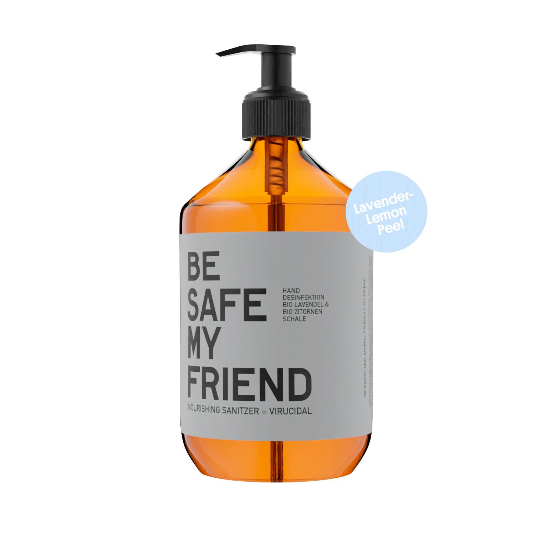 Sanitizer Spray – Lavender-Lemon Peel 500 ml von BE [...] MY FRIEND