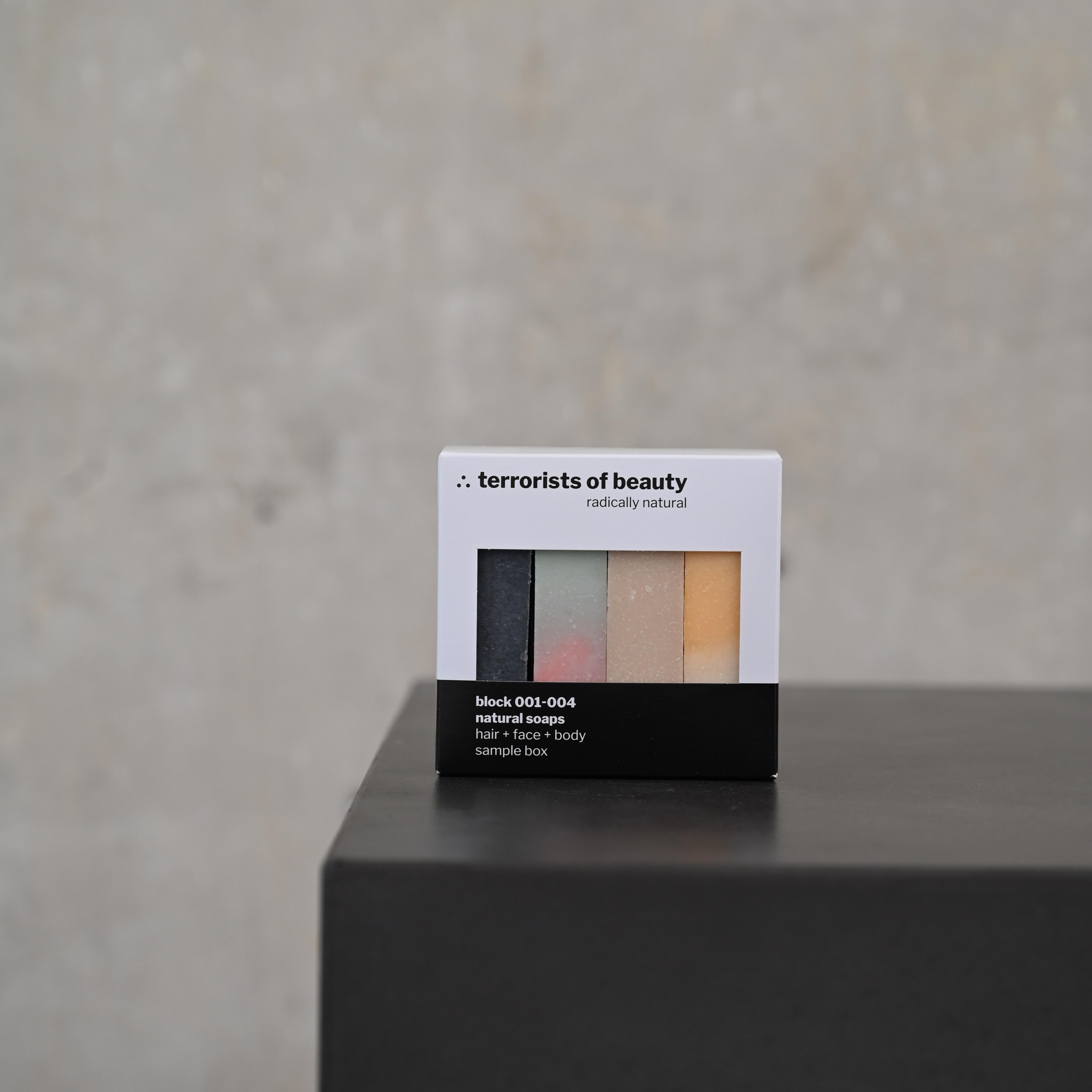 Gift Sample Box von terrorists of beauty