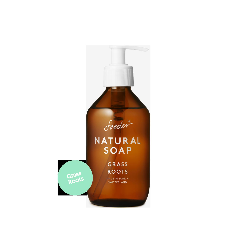 Natural Soap – Grass Roots 250 ml von soeder*
