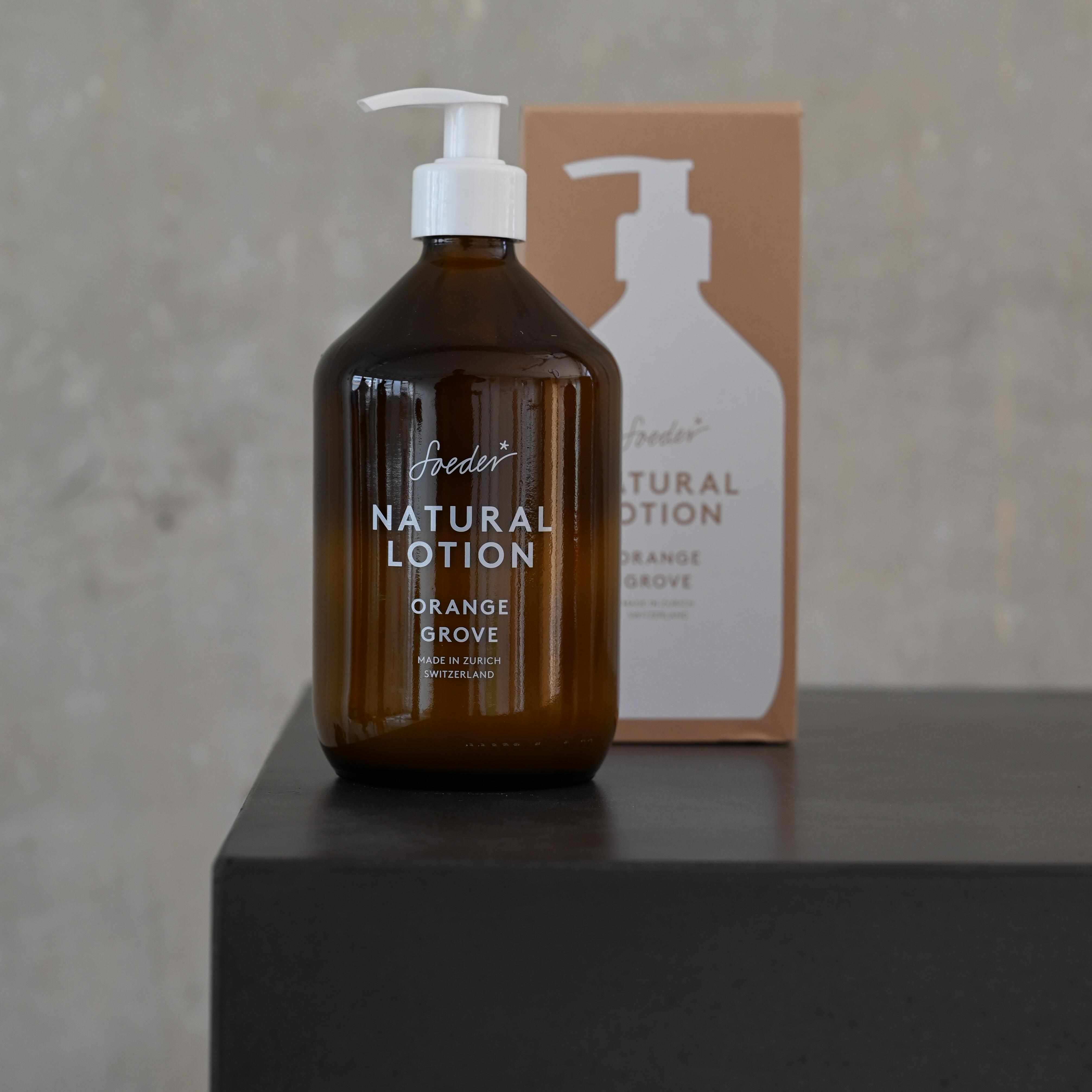 Natural Lotion – Orange Grove 500 ml von soeder*