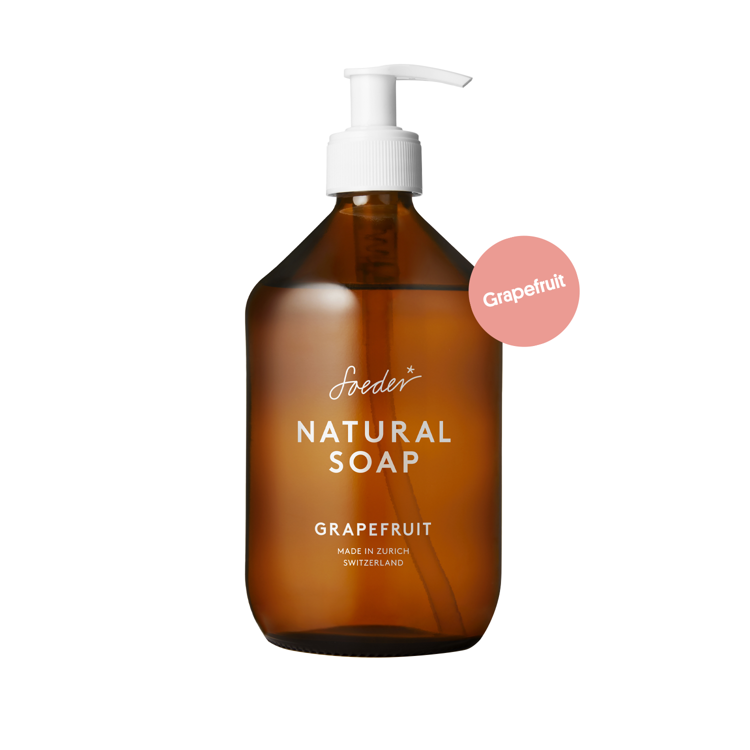 Natural Soap – Grapefruit 500 ml von soeder*