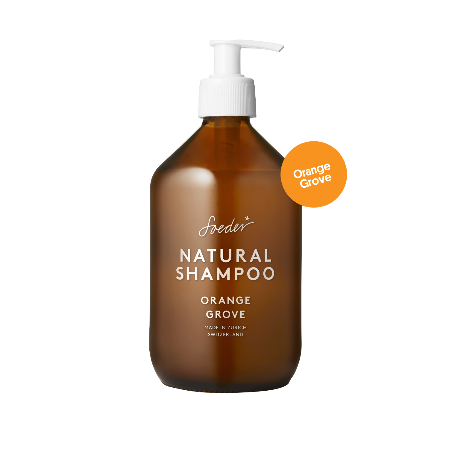 Natural Shampoo – Orange Grove 500 ml von soeder*