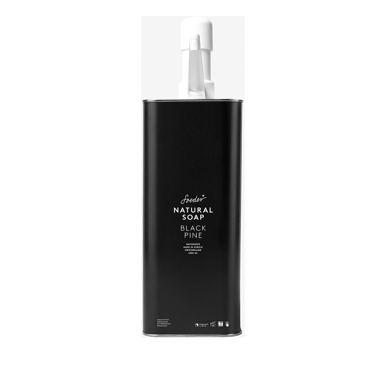 5 Liter Refill Seife Black Pine von Soeder*
