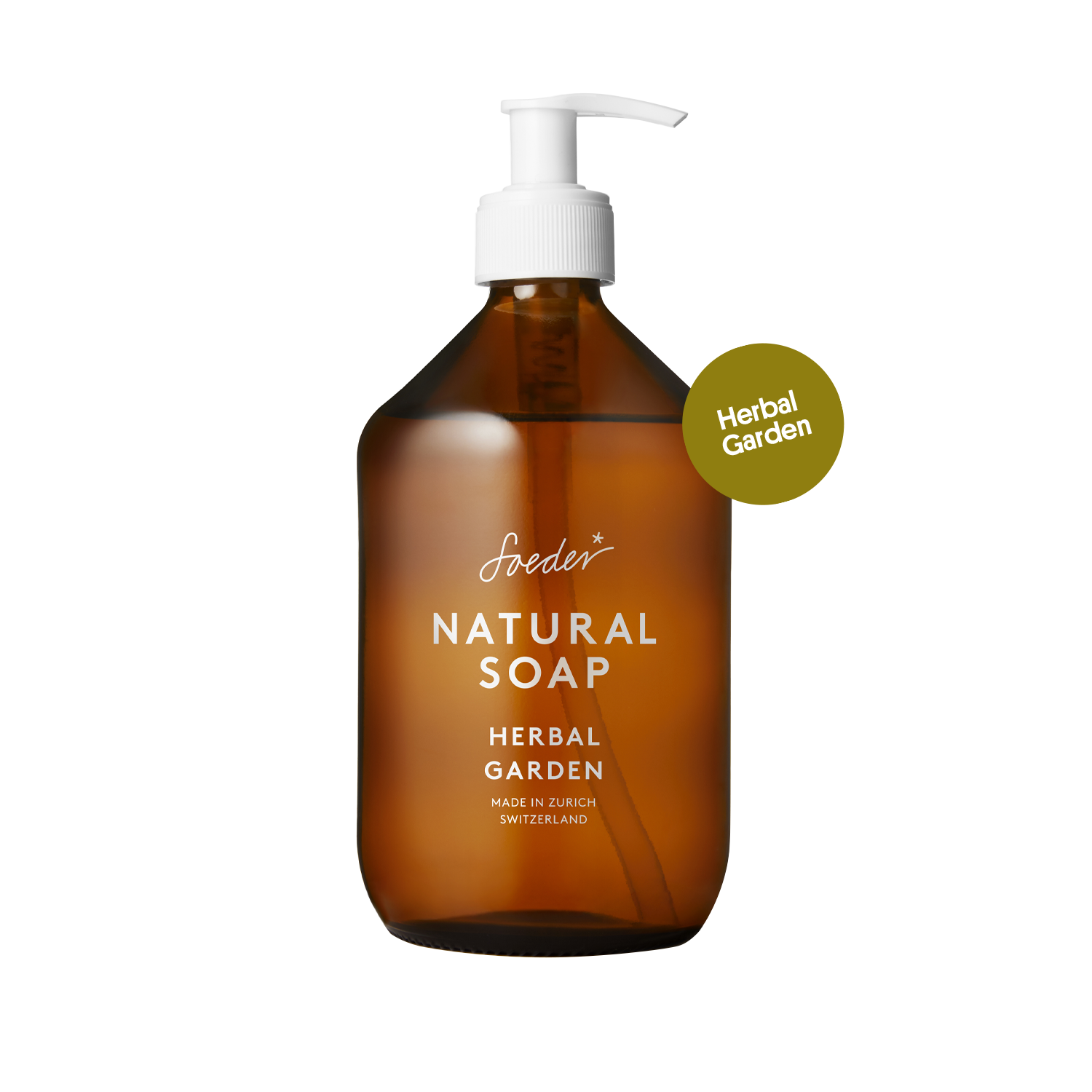 Natural Soap – Herbal Garden 500 ml von soeder*
