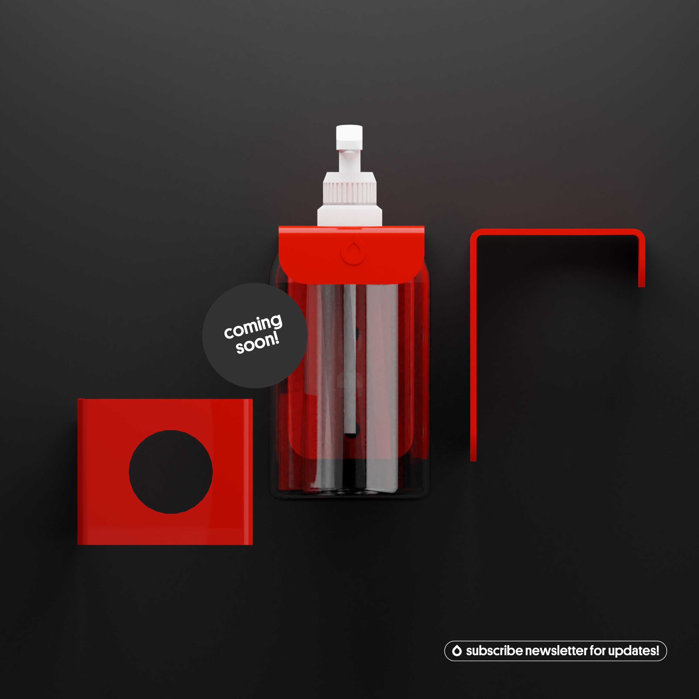 Soap Hook – Feuerrot von soapkitchen (RAL 3000)