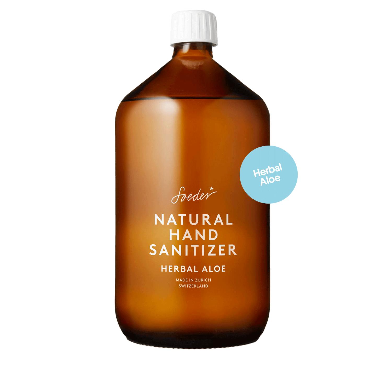 1 Liter Refill Hand-Sanitizer Herbal Aloe von soeder*