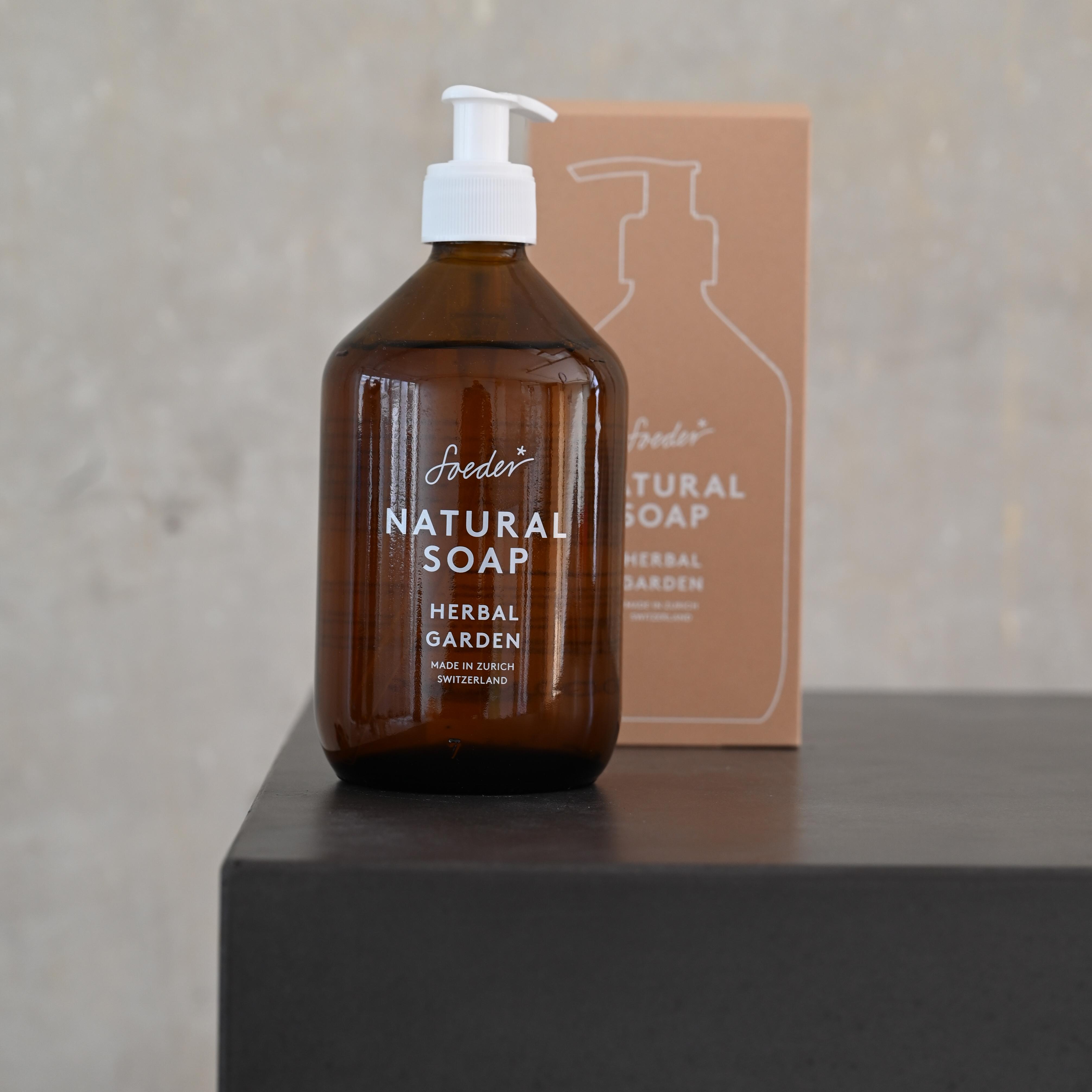 Natural Soap - Herbal Garden 500 ml von soeder*