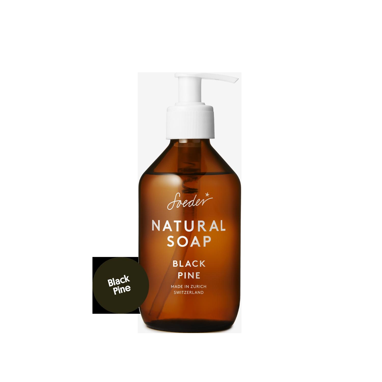 Natural Soap – Black Pine 250 ml von soeder*