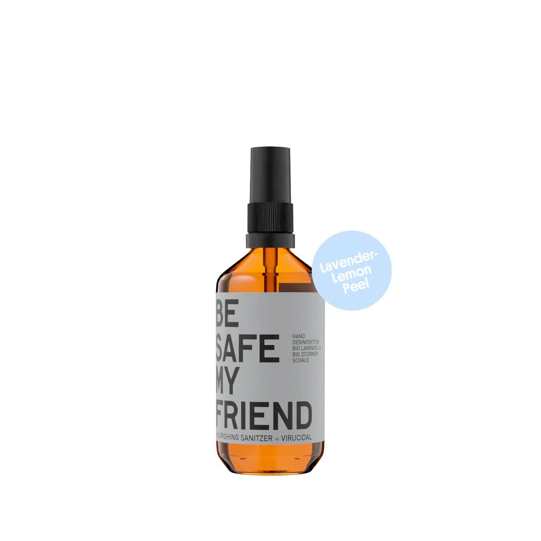 Sanitizer Spray – Lavender-Lemon Peel 100 ml von BE [...] MY FRIEND