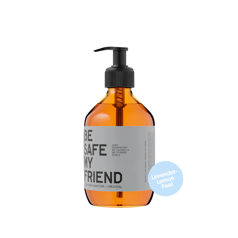 Sanitizer Spray – Lavender-Lemon Peel 300 ml von BE [...] MY FRIEND