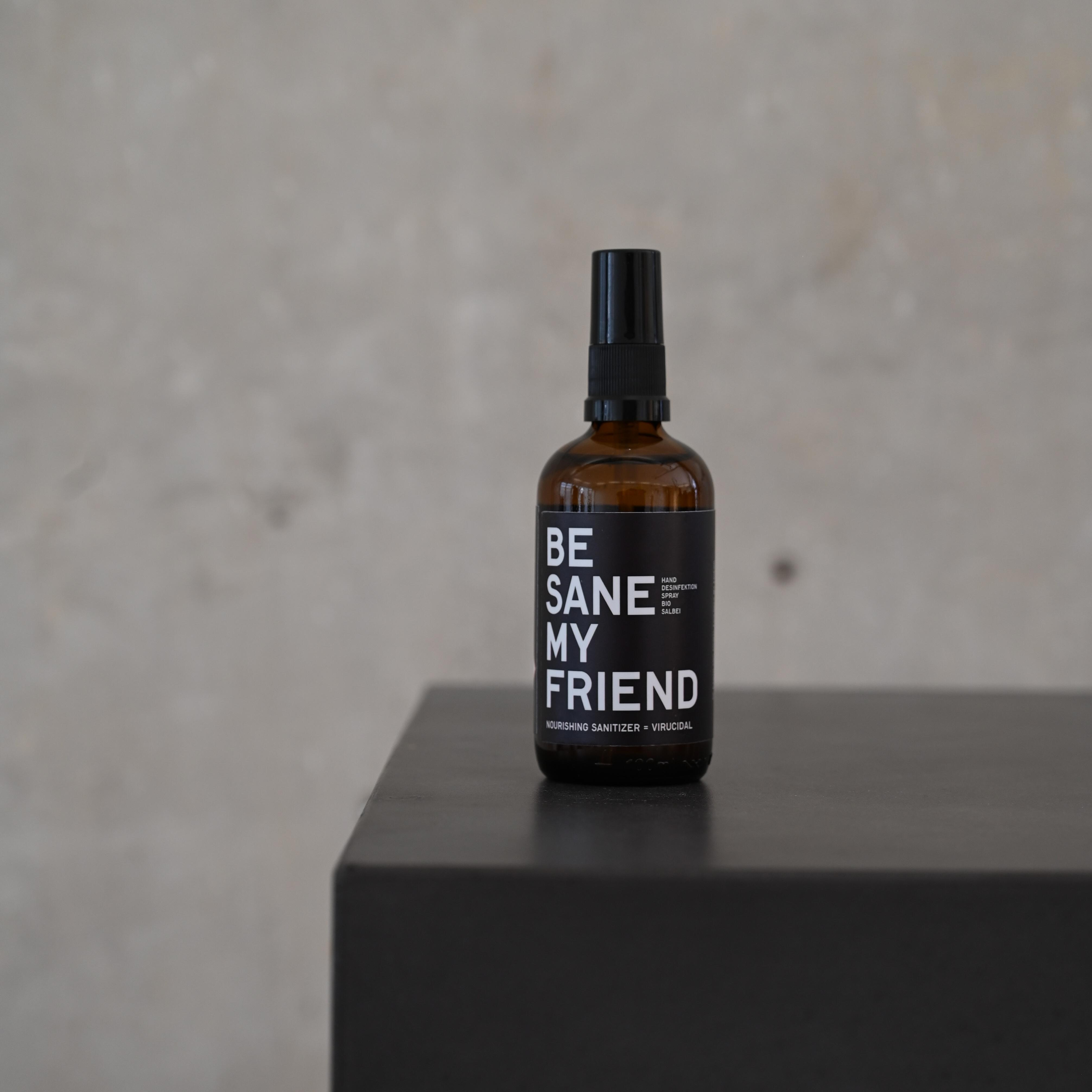 Sanitizer Spray - Bio Salbei 100 ml von BE [...] MY FRIEND